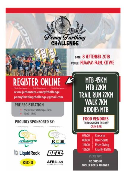 2018 Penny Farthing Challenge