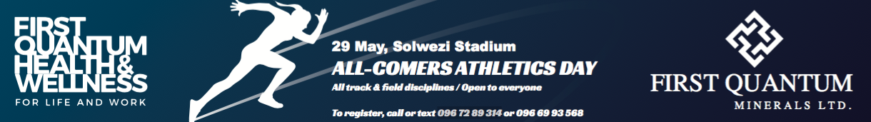 Solwezi All Comers Athletics Day